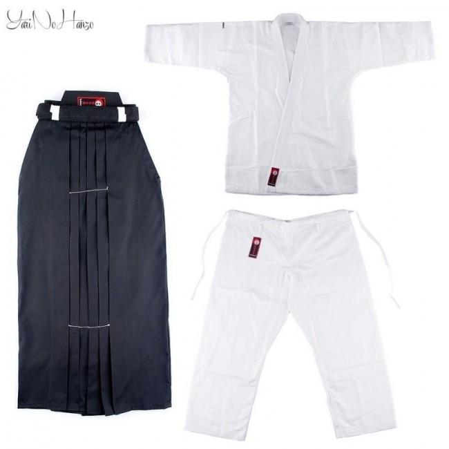 Aikido Set Basic   Aikido Gi + Hakama